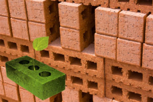Green Leaf Brick