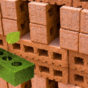 Green Leaf Brick