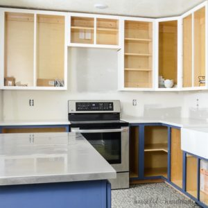 Unfinished Wood Cabinets