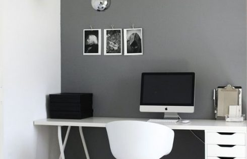Minimalist and Efficient Workspace Design to Increase Work Productivity