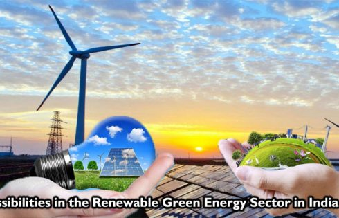 Possibilities in the Renewable Green Energy Sector in India