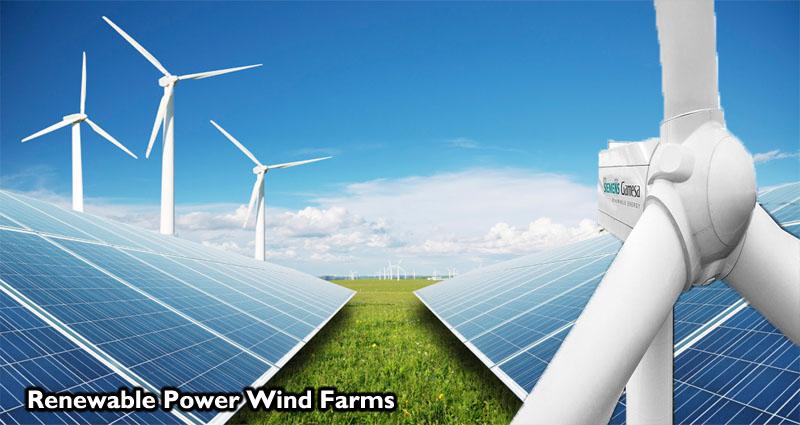 Renewable Power Wind Farms